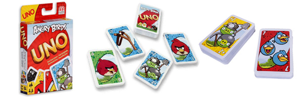 Couverture Uno Angry Birds
