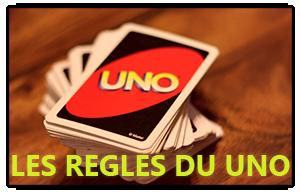 Les règles du jeu uno