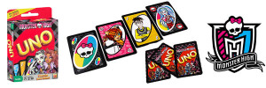 Visuel des cartes Monster High